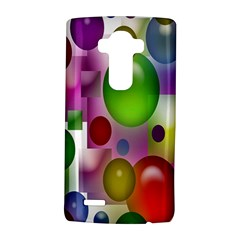 Colored Bubbles Squares Background Lg G4 Hardshell Case