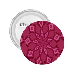 Fusia Abstract Background Element Diamonds 2.25  Buttons