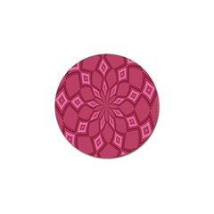 Fusia Abstract Background Element Diamonds Golf Ball Marker (4 pack)
