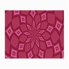 Fusia Abstract Background Element Diamonds Small Glasses Cloth