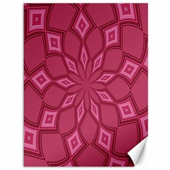 Fusia Abstract Background Element Diamonds Canvas 36  X 48