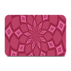 Fusia Abstract Background Element Diamonds Plate Mats