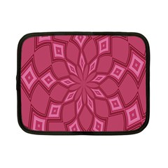 Fusia Abstract Background Element Diamonds Netbook Case (Small)