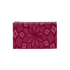 Fusia Abstract Background Element Diamonds Cosmetic Bag (small)