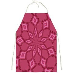 Fusia Abstract Background Element Diamonds Full Print Aprons