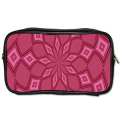 Fusia Abstract Background Element Diamonds Toiletries Bags