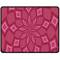 Fusia Abstract Background Element Diamonds Fleece Blanket (medium)