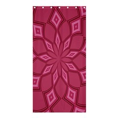 Fusia Abstract Background Element Diamonds Shower Curtain 36  x 72  (Stall)