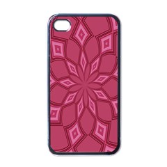 Fusia Abstract Background Element Diamonds Apple Iphone 4 Case (black)