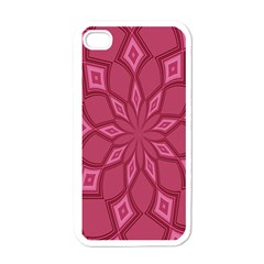 Fusia Abstract Background Element Diamonds Apple iPhone 4 Case (White)