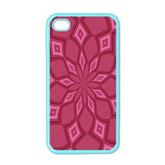 Fusia Abstract Background Element Diamonds Apple iPhone 4 Case (Color)