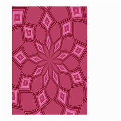 Fusia Abstract Background Element Diamonds Small Garden Flag (two Sides)
