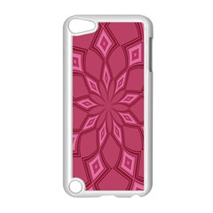 Fusia Abstract Background Element Diamonds Apple iPod Touch 5 Case (White)