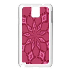 Fusia Abstract Background Element Diamonds Samsung Galaxy Note 3 N9005 Case (white)
