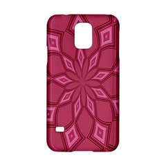 Fusia Abstract Background Element Diamonds Samsung Galaxy S5 Hardshell Case