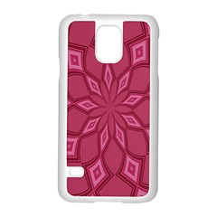 Fusia Abstract Background Element Diamonds Samsung Galaxy S5 Case (white)