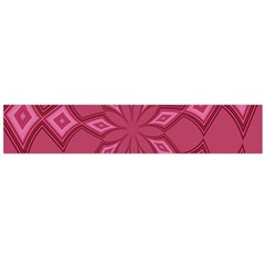 Fusia Abstract Background Element Diamonds Flano Scarf (large)