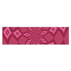 Fusia Abstract Background Element Diamonds Satin Scarf (oblong)