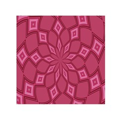 Fusia Abstract Background Element Diamonds Small Satin Scarf (Square)