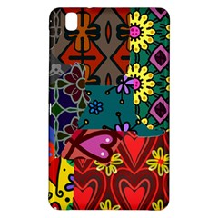 Digitally Created Abstract Patchwork Collage Pattern Samsung Galaxy Tab Pro 8.4 Hardshell Case