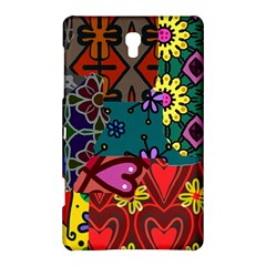 Digitally Created Abstract Patchwork Collage Pattern Samsung Galaxy Tab S (8 4 ) Hardshell Case