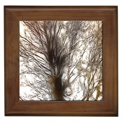 Tree Art Artistic Tree Abstract Background Framed Tiles