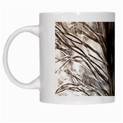 Tree Art Artistic Tree Abstract Background White Mugs