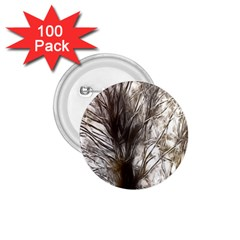 Tree Art Artistic Tree Abstract Background 1.75  Buttons (100 pack)