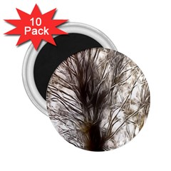 Tree Art Artistic Tree Abstract Background 2.25  Magnets (10 pack)