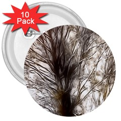 Tree Art Artistic Tree Abstract Background 3  Buttons (10 pack)