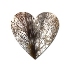 Tree Art Artistic Tree Abstract Background Heart Magnet