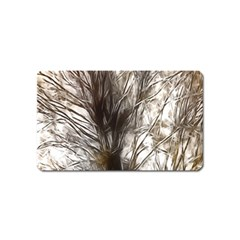 Tree Art Artistic Tree Abstract Background Magnet (Name Card)