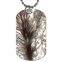 Tree Art Artistic Tree Abstract Background Dog Tag (Two Sides)