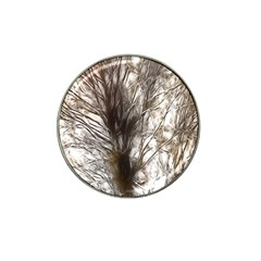 Tree Art Artistic Tree Abstract Background Hat Clip Ball Marker (4 Pack)