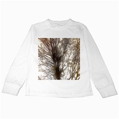Tree Art Artistic Tree Abstract Background Kids Long Sleeve T Shirts