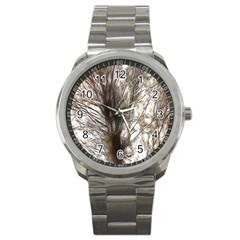 Tree Art Artistic Tree Abstract Background Sport Metal Watch
