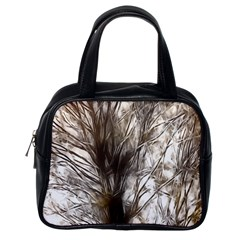 Tree Art Artistic Tree Abstract Background Classic Handbags (One Side)