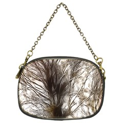 Tree Art Artistic Tree Abstract Background Chain Purses (two Sides)