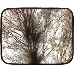 Tree Art Artistic Tree Abstract Background Fleece Blanket (Mini)