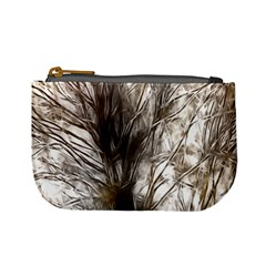 Tree Art Artistic Tree Abstract Background Mini Coin Purses
