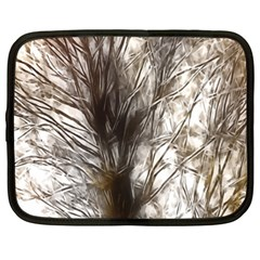 Tree Art Artistic Tree Abstract Background Netbook Case (XL)