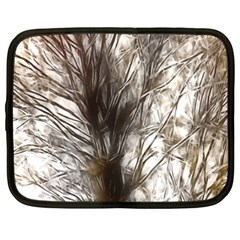 Tree Art Artistic Tree Abstract Background Netbook Case (XXL)