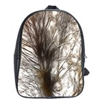 Tree Art Artistic Tree Abstract Background School Bags(Large)  Front