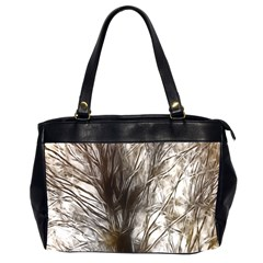 Tree Art Artistic Tree Abstract Background Office Handbags (2 Sides)