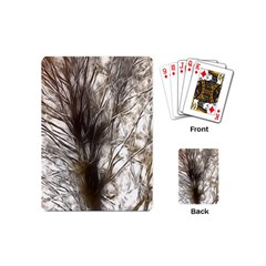 Tree Art Artistic Tree Abstract Background Playing Cards (Mini)