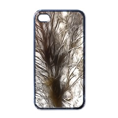 Tree Art Artistic Tree Abstract Background Apple iPhone 4 Case (Black)