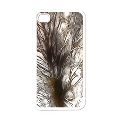 Tree Art Artistic Tree Abstract Background Apple Iphone 4 Case (white)