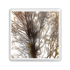 Tree Art Artistic Tree Abstract Background Memory Card Reader (Square)