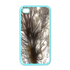Tree Art Artistic Tree Abstract Background Apple Iphone 4 Case (color)