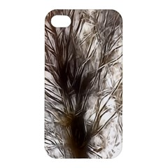 Tree Art Artistic Tree Abstract Background Apple Iphone 4/4s Premium Hardshell Case